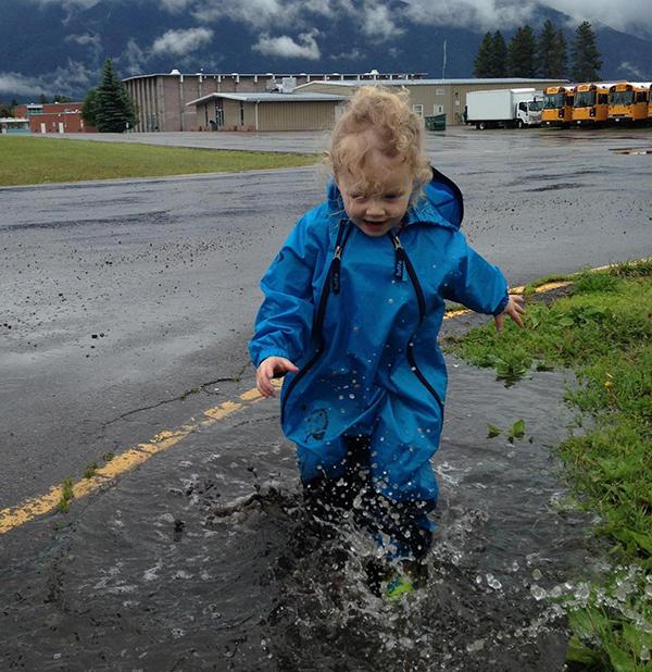Muddy Buddy runningpuddle