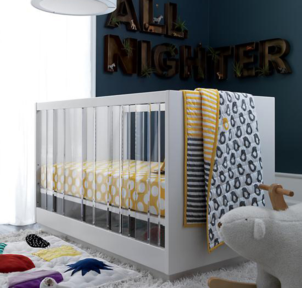 Panorama Acrylic Cot Brings Contemporary Art And Beauty To