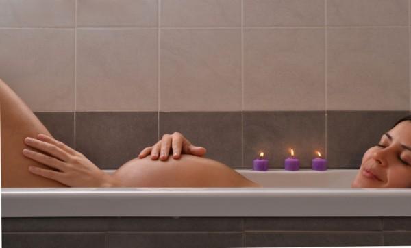 pregnant bath sl