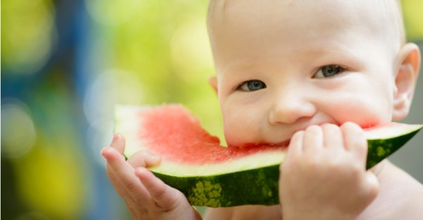 toddler eating watermelon sl fb