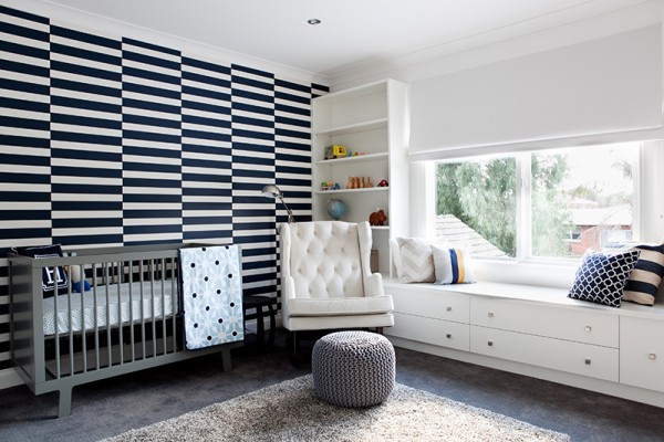 Beautiful Babies' Rooms - stripes lead