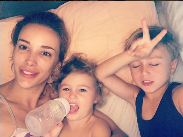 Rebecca Judd and kids