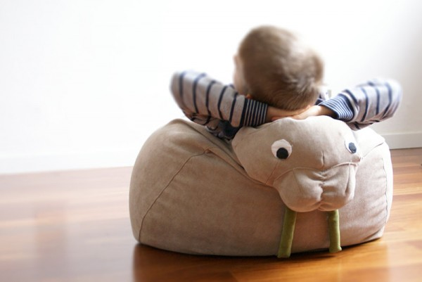 Take A Seat Zoo Style With Animal Bean Bags For Kids