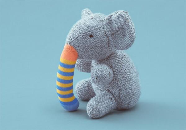 Second Life elephant