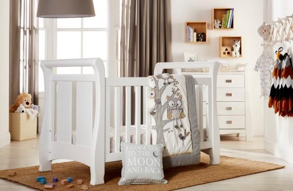 baby shower Babies R Us Tasman Sleigh Cot