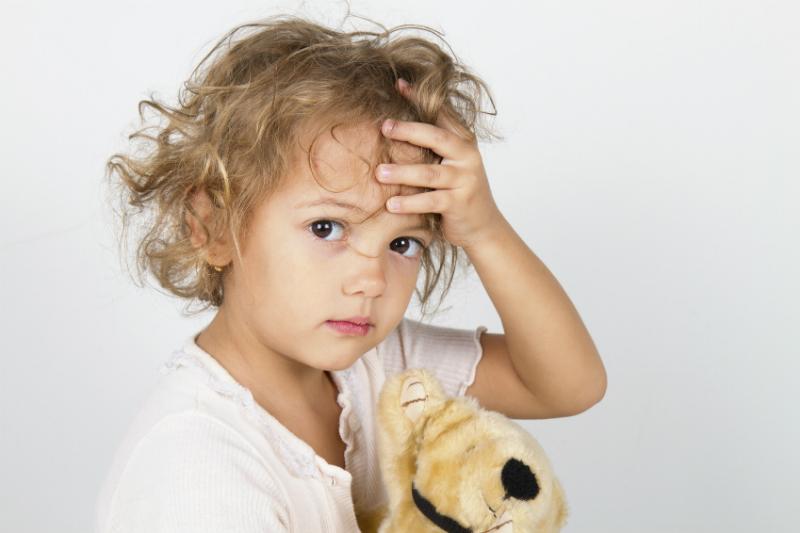 child headache teddy stock sl head