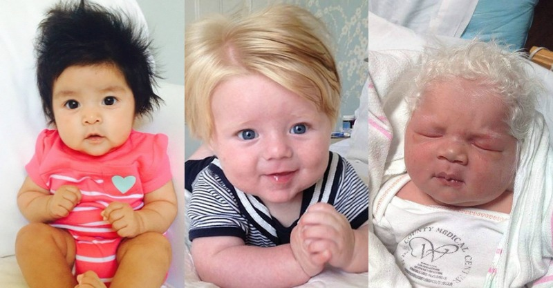 Funny hair babies is something all parents need to see