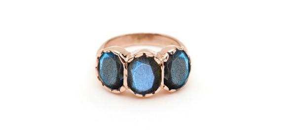 Arik Kastan Labradorite Ring