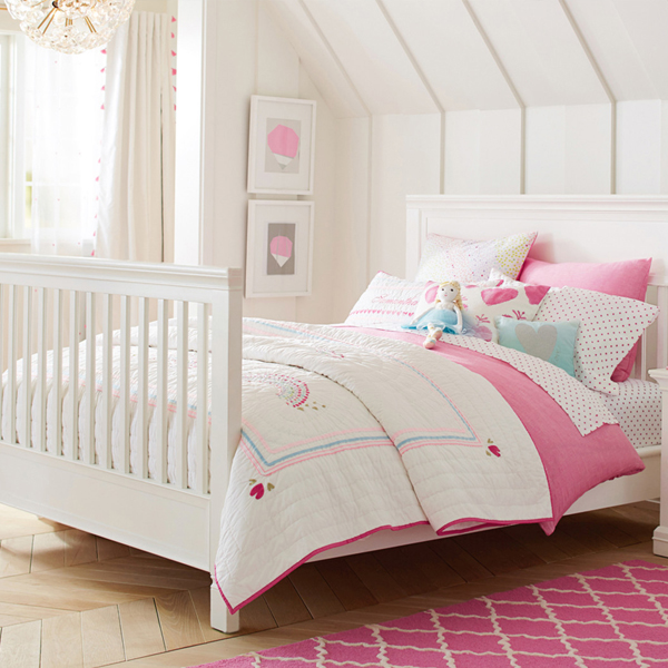 The Cot That Turns Into A Double Bed From Pottery Barn Kids