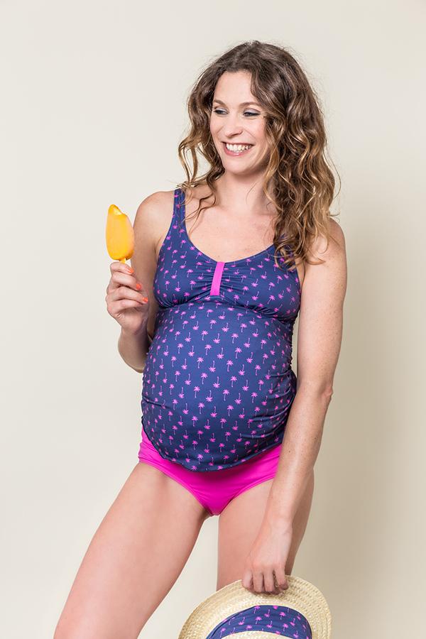 Les Ultraviolettes maternity swimwear tankini