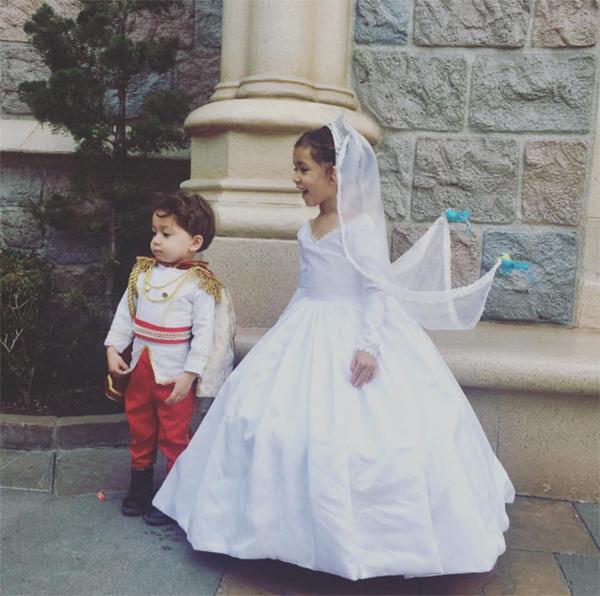 Nephali Garcia designer dad wedding 2