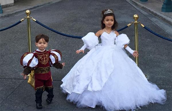 Nephali Garcia designer dad wedding