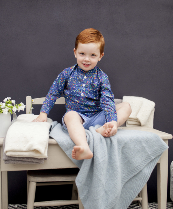 Olivier Baby and Kids Liberty Shirt boy