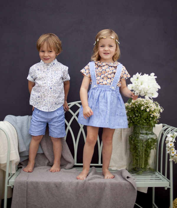 Olivier Baby and Kids Liberty Shirts