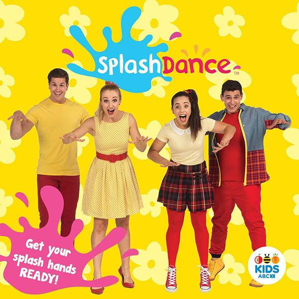 SplashDance album cover