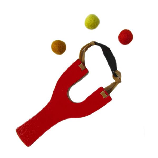 Toy slingshot red