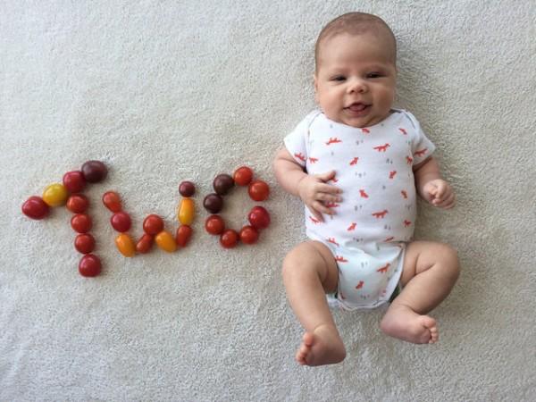 baby announcement card veg2