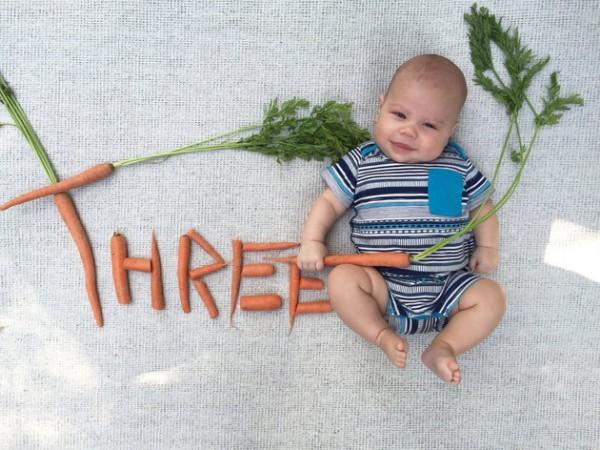 baby announcement card veg3