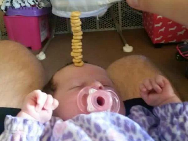 cheerio baby girl
