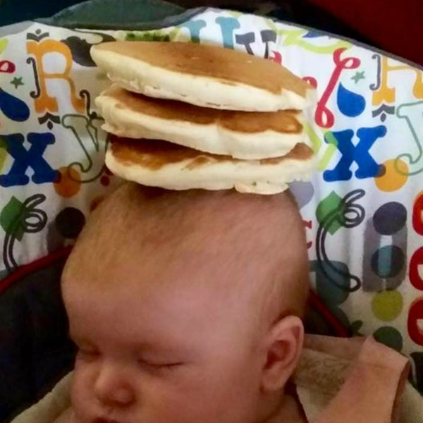cheerio baby pancake