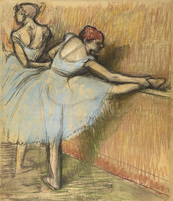 Degas NGV ballerinas