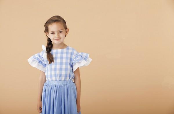 Le Mu gingham blouse