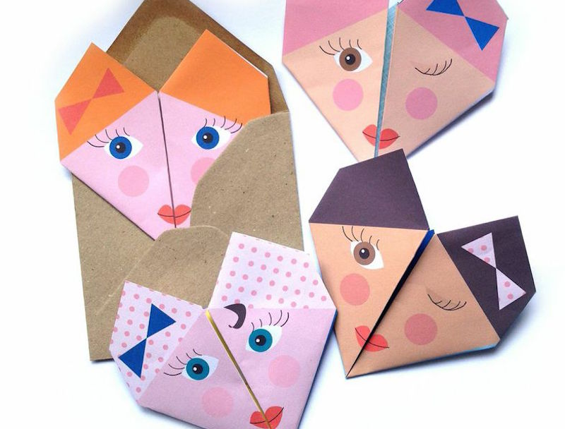 Send Secret Messages In Style With This Fun Origami Notepaper