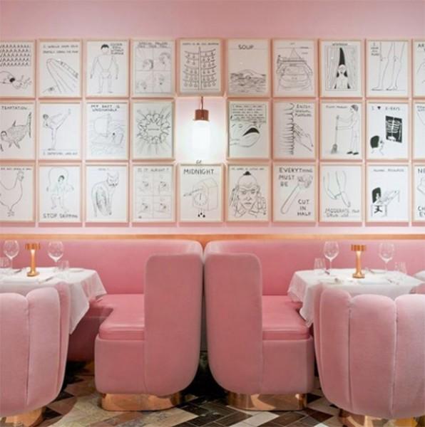 Sketch pink space