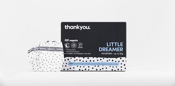 Thankyou Little Dreamer nappies