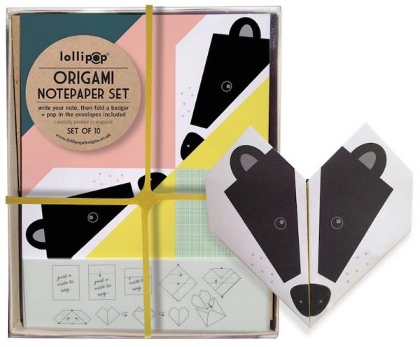 badger_origami_cutout