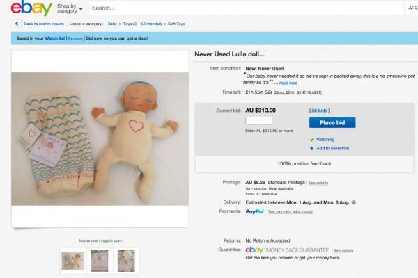 lulla doll ebay