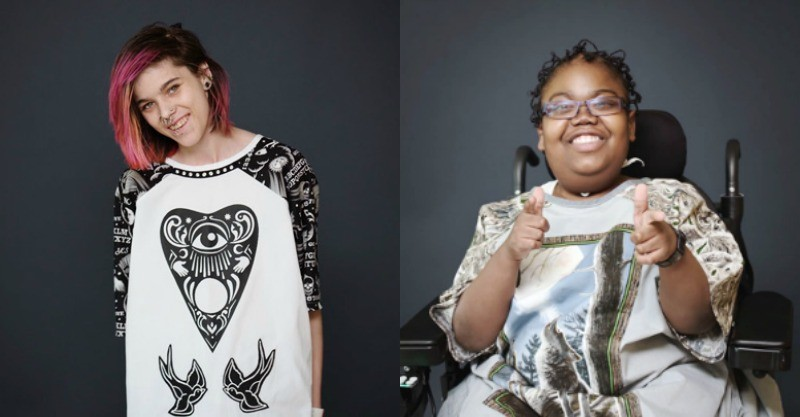 The fashion designers creating edgy hospital gowns for teens ...