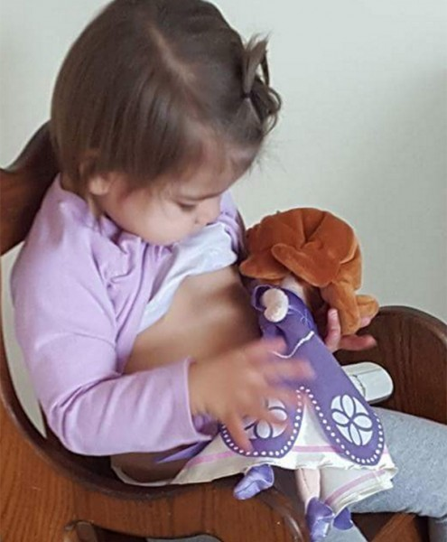 toddler breastfeeding toy
