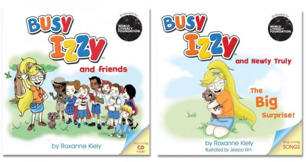Busy Izzy Book Series