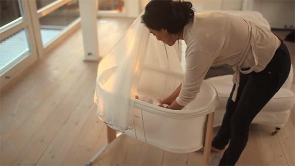 David Jones BabyBjorn bassinet