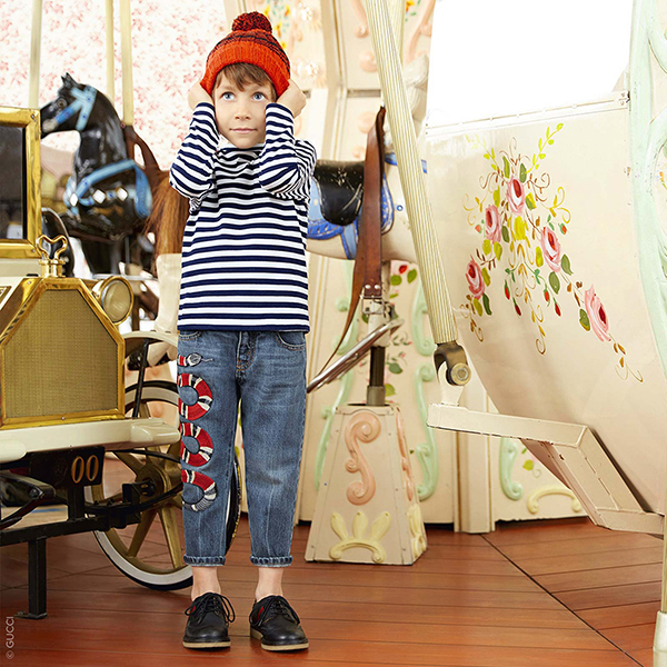 Luxe Brands for Kids Gucci