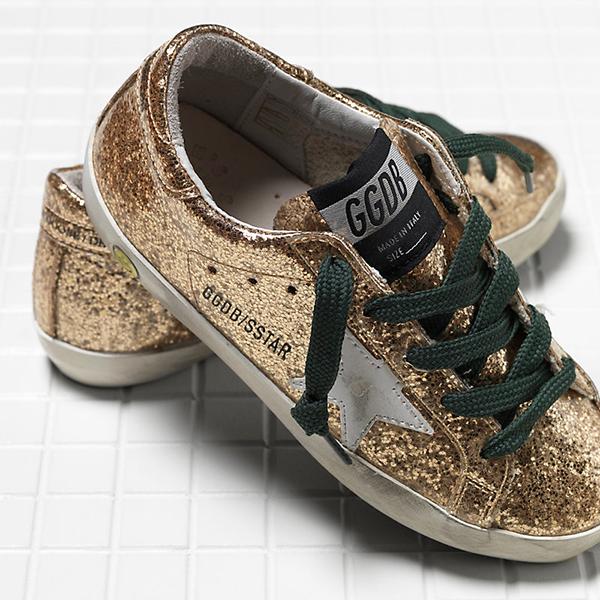 Luxe Brands for kids Golden Goose Deluxe Brand sneakers