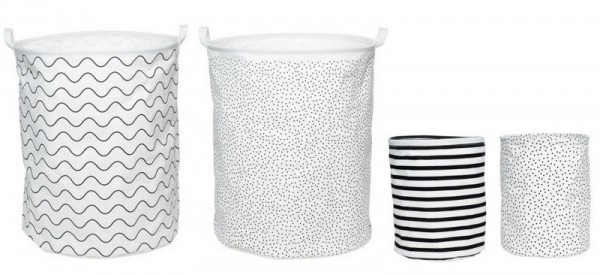 Milk & Sugar canvas baskets