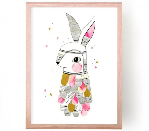 Nursery-Art-RU-Laura-Blythman-rabbit