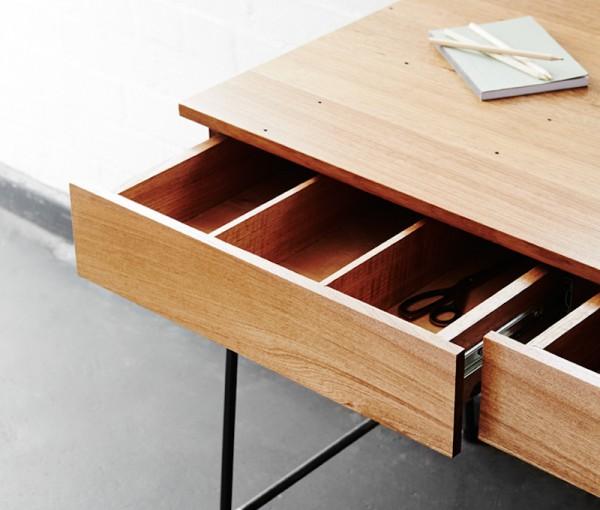 Truant Desk Drawer detail