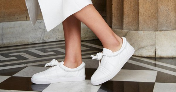 Flat shoes Jaggar white sneakers FB