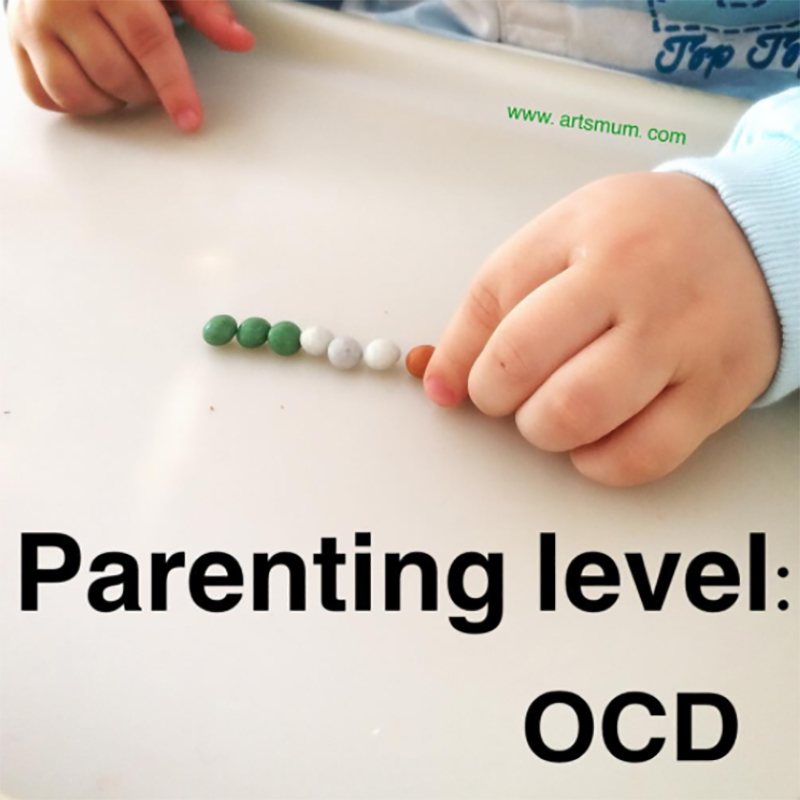 Toddler OCD meme