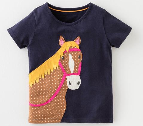 Boden horse tee