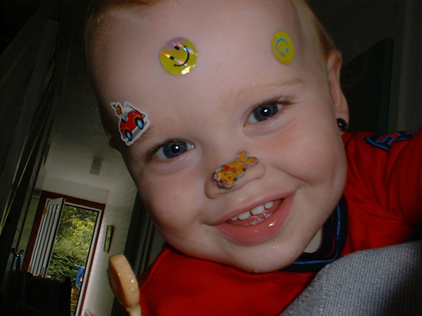 Max - Covered in Stickers