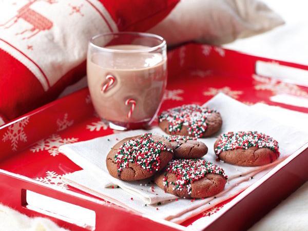Chocolate Christmas cookies