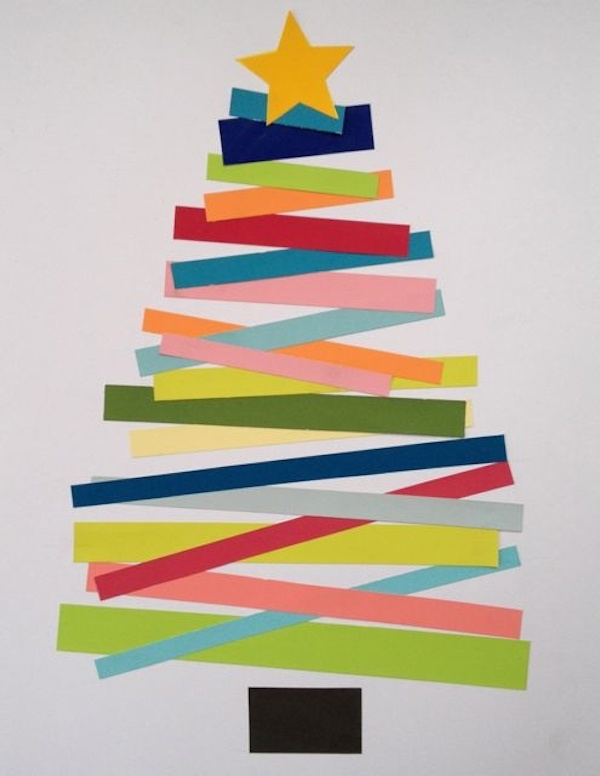 Simple Christmas Cards For Kids To Make