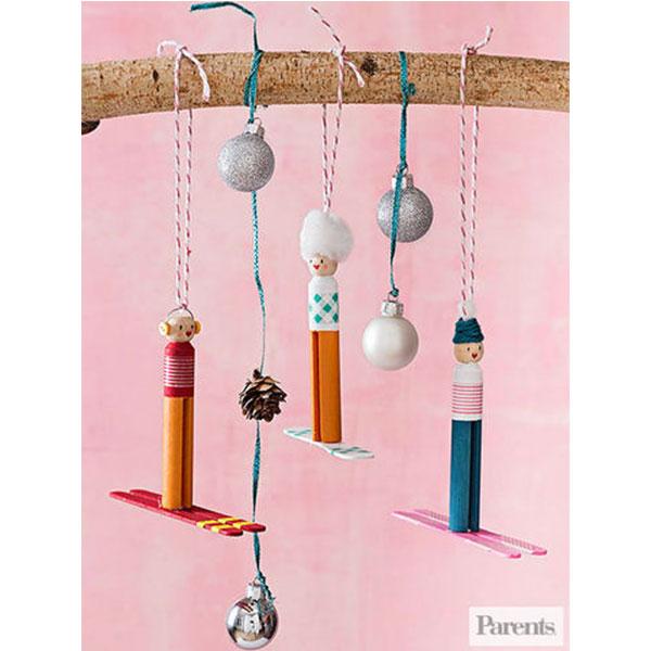 clothespeg-ski-ornaments