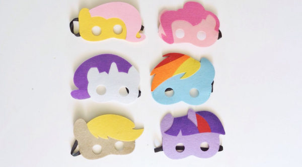 my little pony masks
