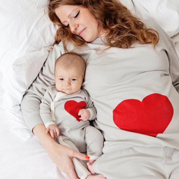 Mum and baby matching PJ set