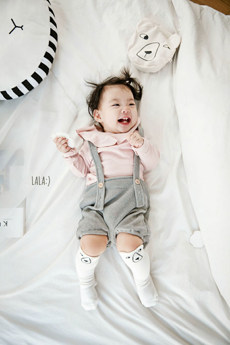 nine adorable ways your child can pull their socks up (literally!)